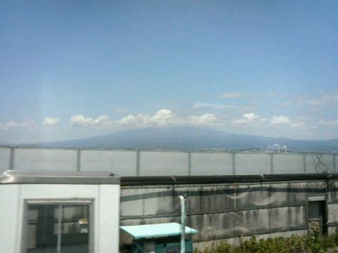 こだまから見た富士山